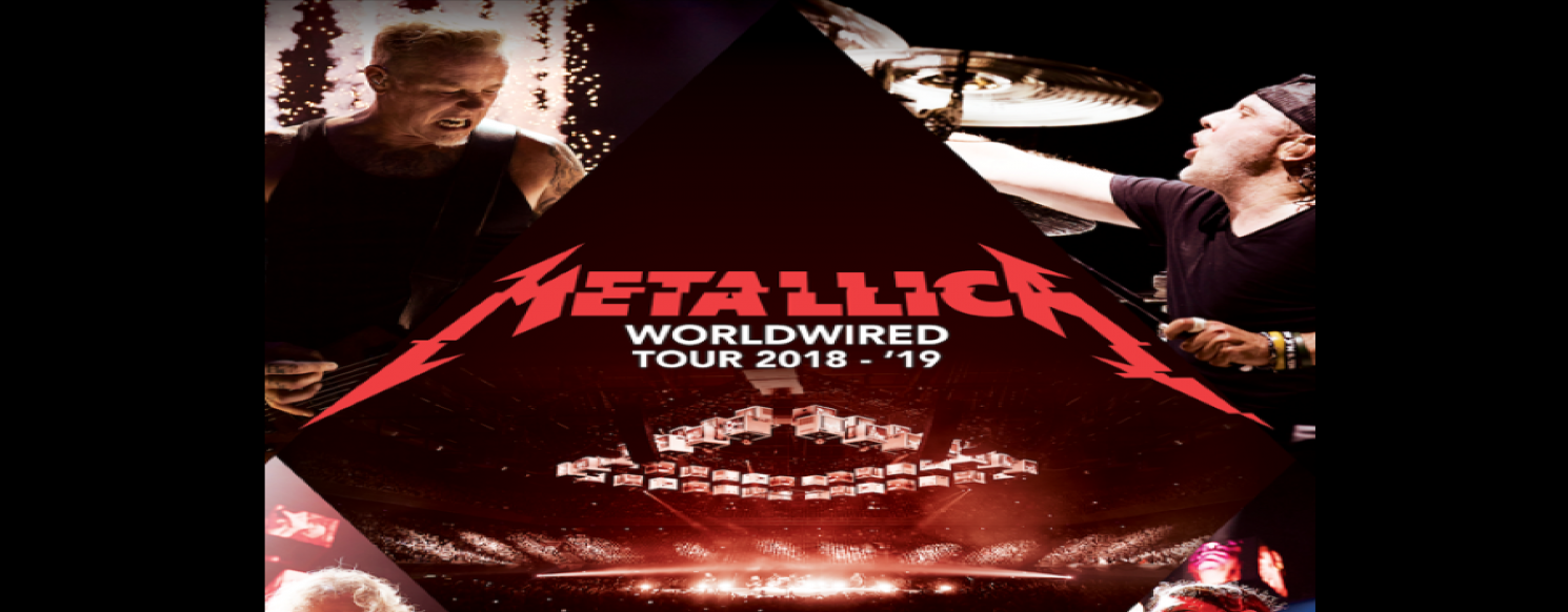 Want to win Tickets to meet Metallica at their show & have a chance