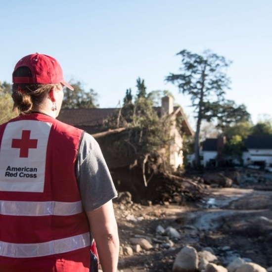 American Red Cross of the Pacific Coast Chapter Support Photo