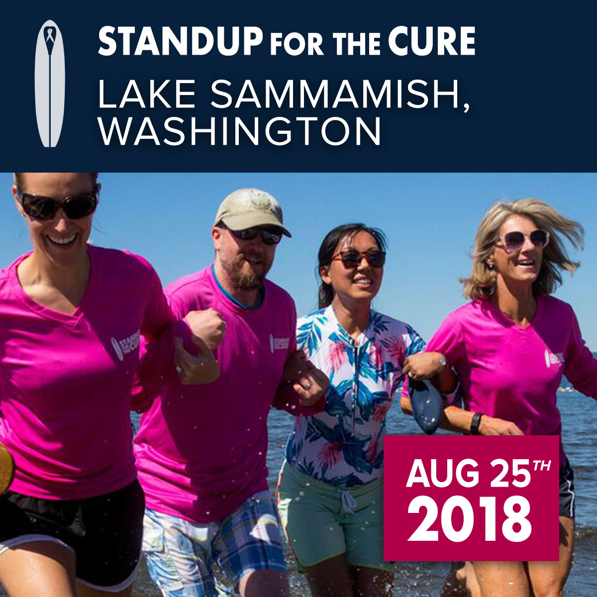 Seattle Standup for the Cure 2018 Photo