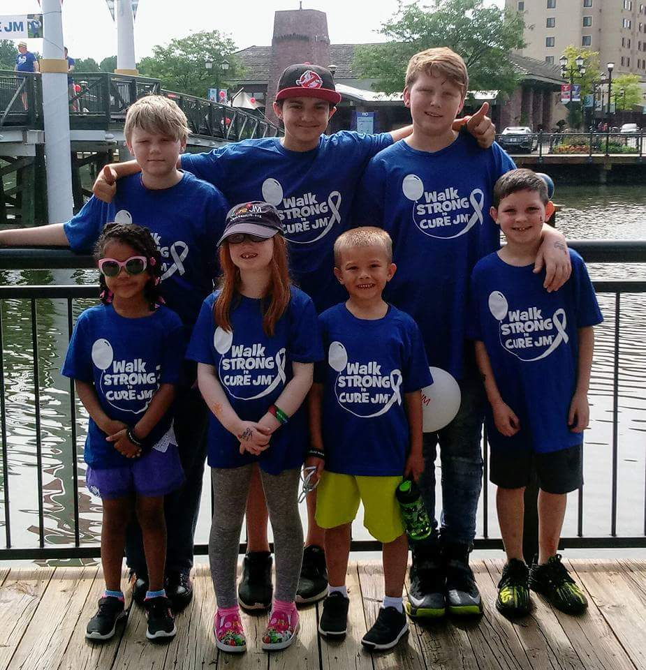 Walk Strong to Cure JM - Ohio-Pittsburgh Photo