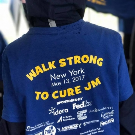 Walk Strong to Cure JM - New York 2018 Photo