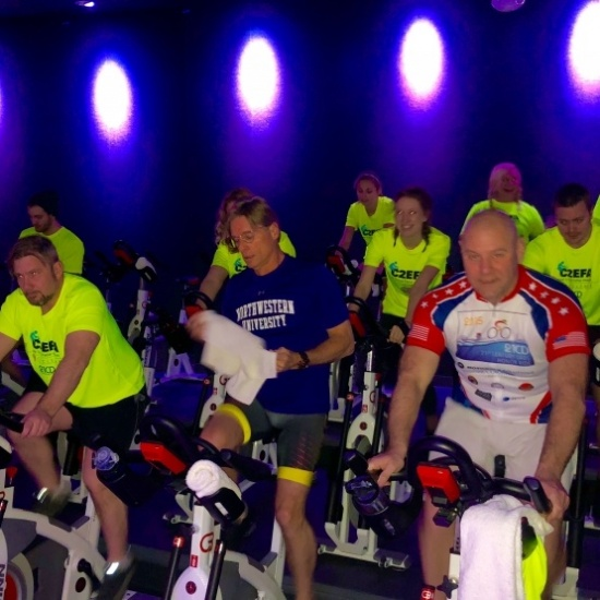 Cycle To End Father Absence & Ride for Ryan - Cyclebar Kildeer - January 28, 2018 @ 2pm Photo