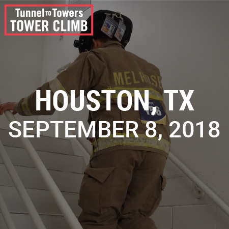 Tunnel to Towers Tower Climb Houston 2018 Photo