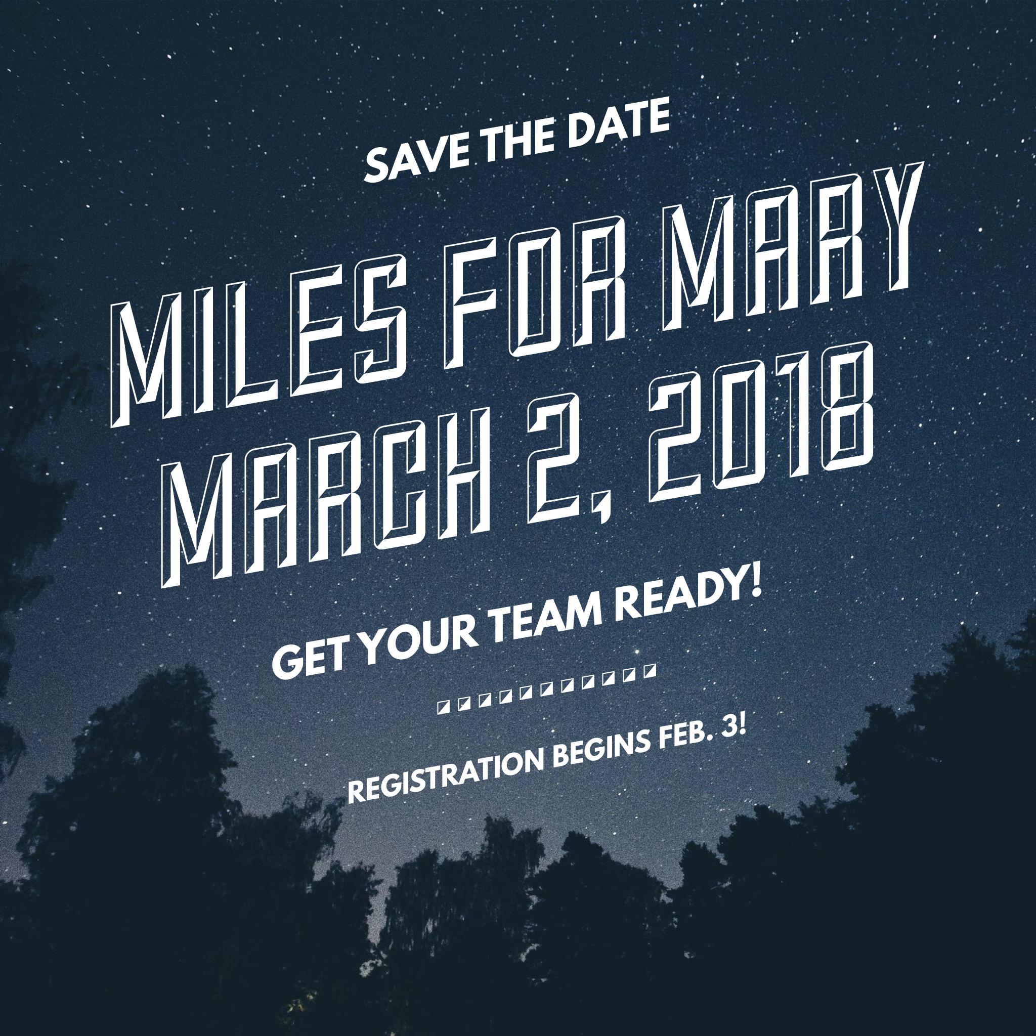 2018 Miles for Mary Photo