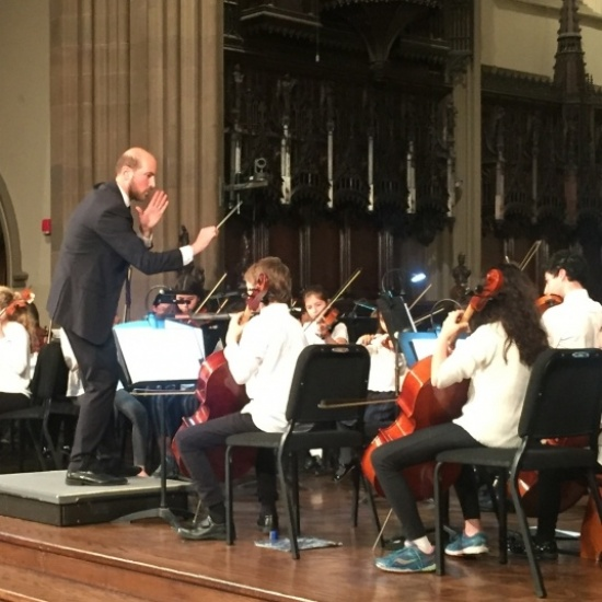 Interschool Orchestras of New York Playathon Photo
