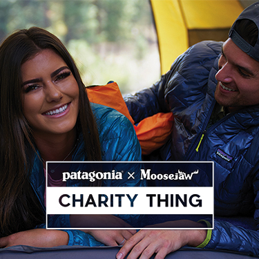 Patagonia x Moosejaw $30,000 Charity Thing - Click Here for the Official Rules Photo