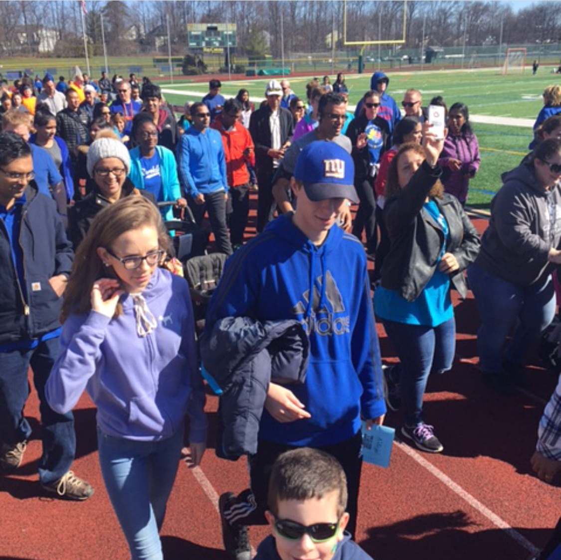 World Autism Day Walk Run Benefiting Autism New Jersey @Jp Stevens HS in Edison, NJ Photo