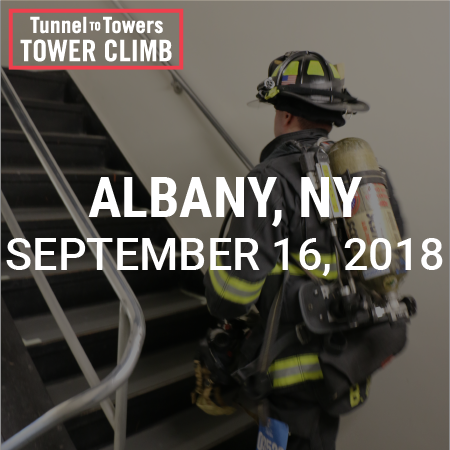 Tunnel to Towers Tower Climb Albany 2018 Photo