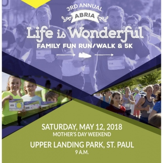 Abria Life Is Wonderful Family Fun Run, Walk & 5K Photo