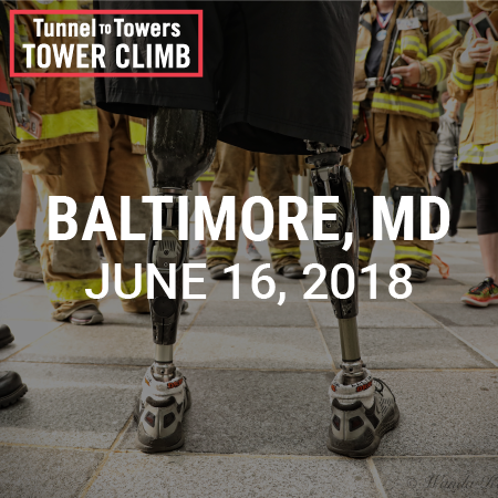 Tunnel to Towers Tower Climb Baltimore 2018 Photo