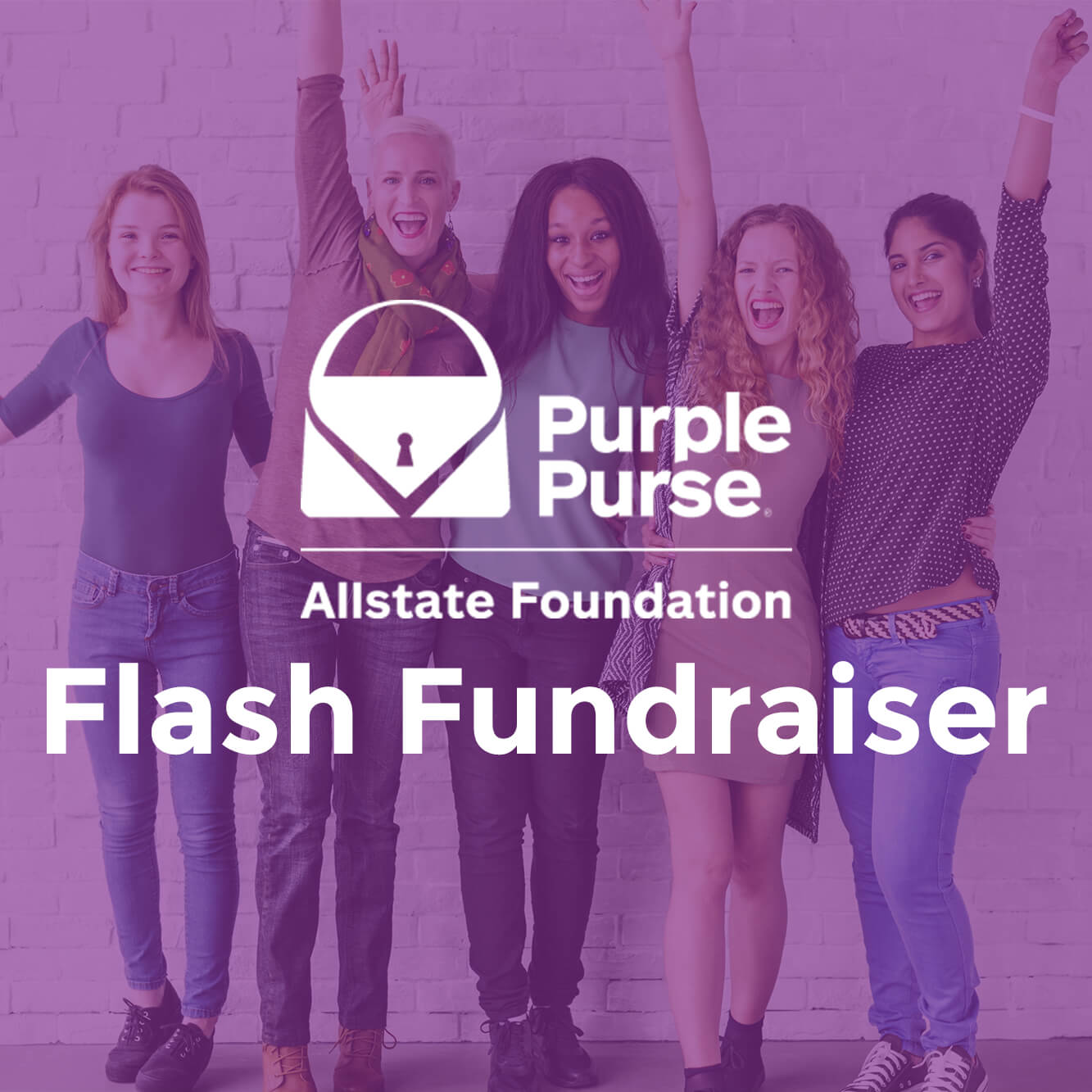 Purple Purse Flash Fundraiser - Click Here for Official Rules Photo
