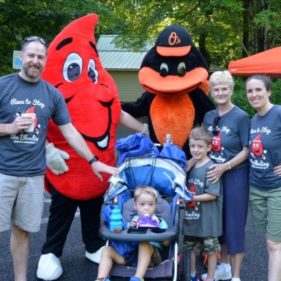 Hemophilia Foundation of MD Race to Stop the Bleeding Photo