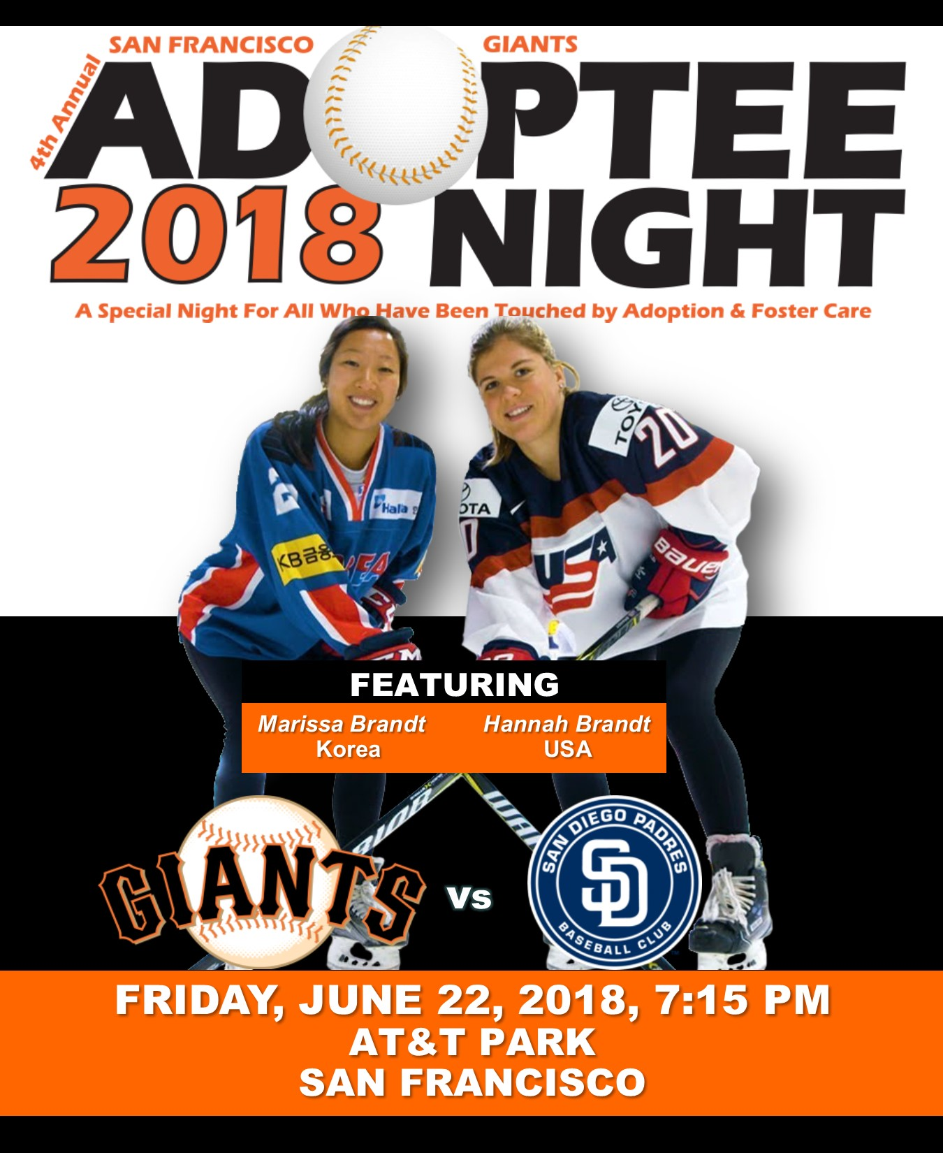 4TH ANNUAL SF GIANTS ADOPTEE NIGHT 2018 Photo