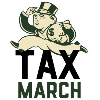 Tax March Photo