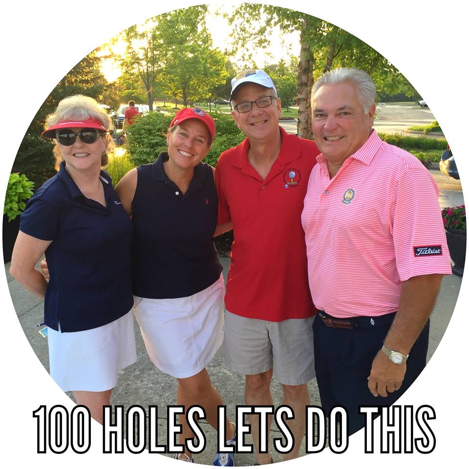100 Holes For The Homeless 2018 Photo