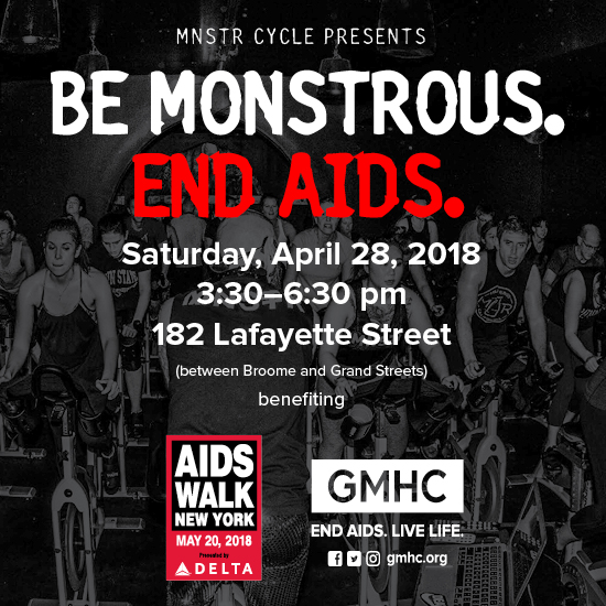 Be Monstrous. End AIDS. 2018 Photo
