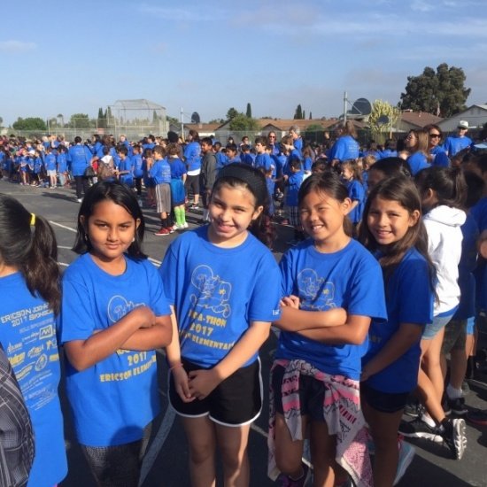 2018 Ericson Elementary Jog-a-Thon Photo