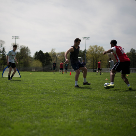 Haverford College's Annual AIDS Awareness Day 3v3 Soccer Tournament 2018 Photo