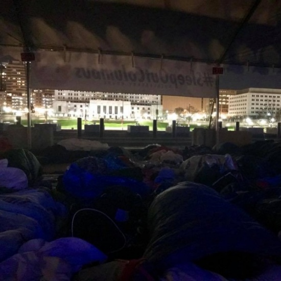 SLEEP OUT! Columbus 2018 Photo