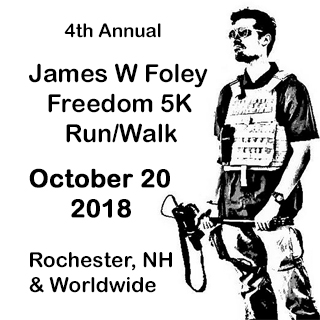 James W Foley Freedom Run - Virtual Photo