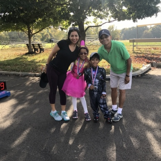 2018 Trick or Trot Family Walk Photo