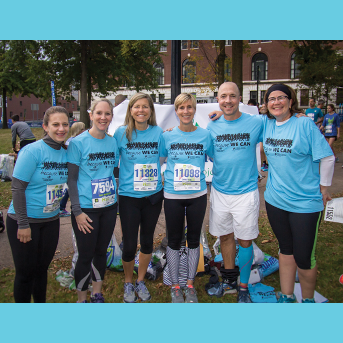 BECAUSE WE CAN! HEALING MEALS 2018 EVERSOURCE HARTFORD MARATHON FUND Photo