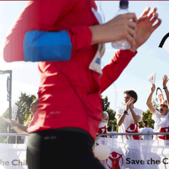 London Marathon with Save the Children Photo