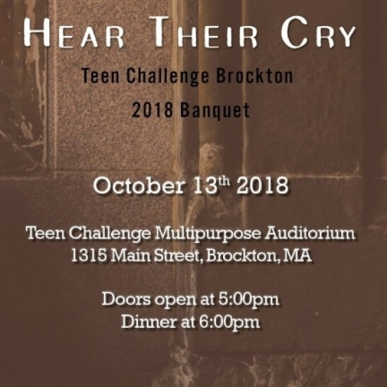 Teen Challenge Hear Their Cry Matching Challenge! Photo