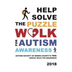 2018 Autism Society of Berks County - 16th Annual Help Solve the Puzzle:  Walk for Autism Awareness Photo