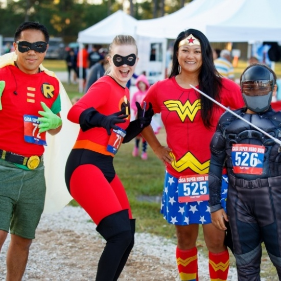 2018 CASA Superhero Run (Montgomery County, Texas) Photo