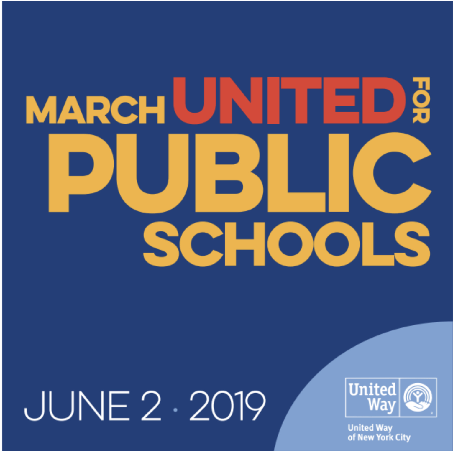 March United for Public Schools Photo