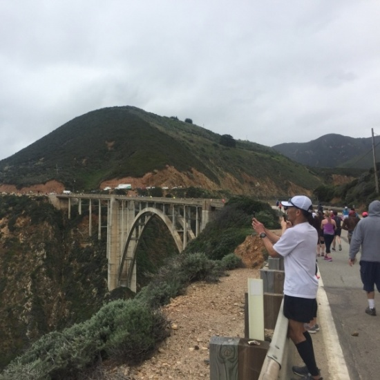 Allyson Whitney Big Sur International Marathon 2019 Photo