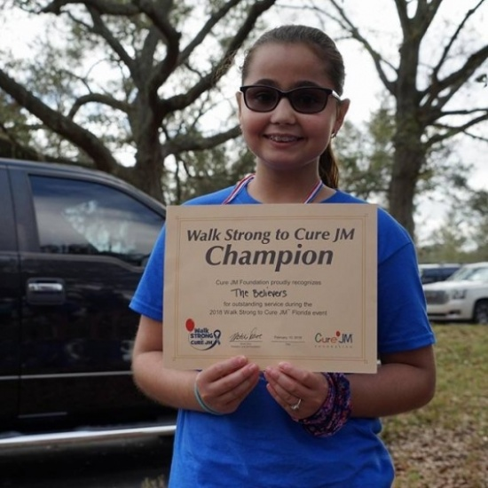 Walk Strong to Cure JM - Northern Florida 2019 Photo