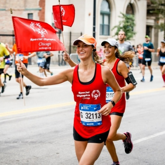 Team Special Olympics Chicago: 2019 Bank of America Chicago Marathon Photo