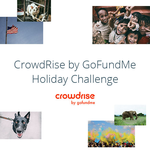 CrowdRise by GoFundMe Holiday Challenge Photo