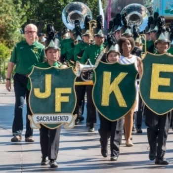 JFK Marching Band Pathway to DC