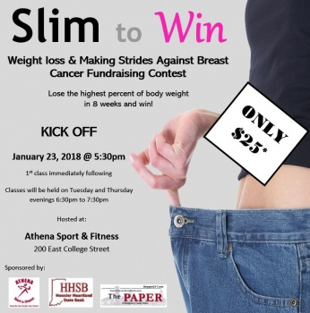 Slim to Win Weight Loss Fundraising Contest