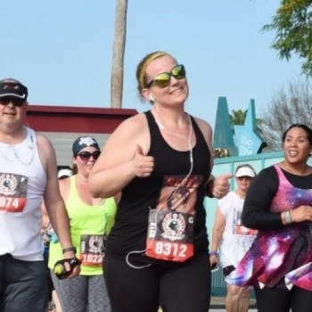 Tara' Star Wars race for Catch a Lift Fund Image