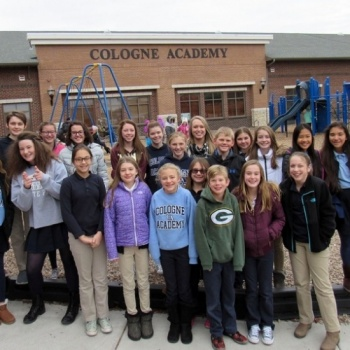 Cologne Academy - NJHS - Walk for Water
