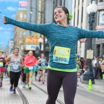Caitlin is running to the Dark Side for Veterans