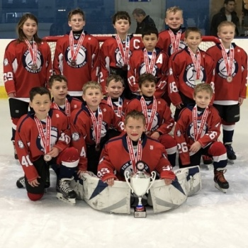 Fox Motors Hockey Squirt House Red 07/08 Team