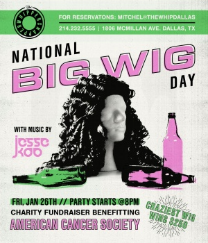 Wiggin' Out for a Cause at The Whippersnapper Image