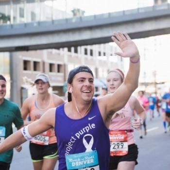 2018 PROJECT PURPLE ROCK AND ROLL MARATHON SERIES Image