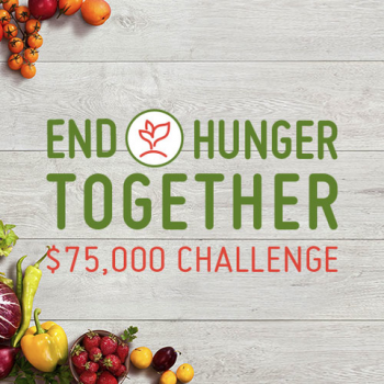 End Hunger Together Challenge Image